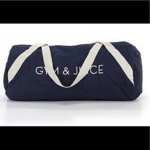 NWOT Private Party Gym & Juice Bag